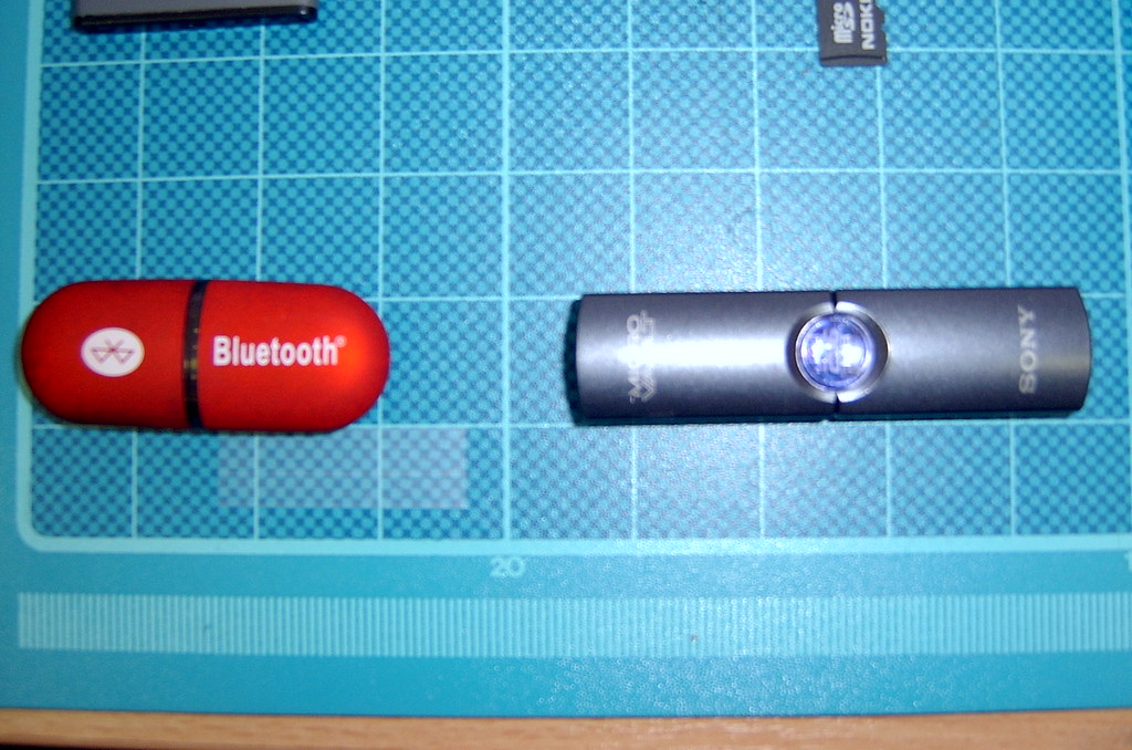 Bluetooth Dongle and Memory Stick