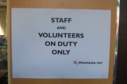 staff only ;)