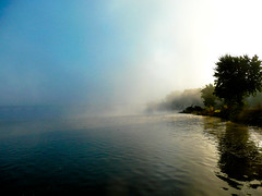 Morning (mike.palic) Tags: morning water fog wisconsin river merrimac
