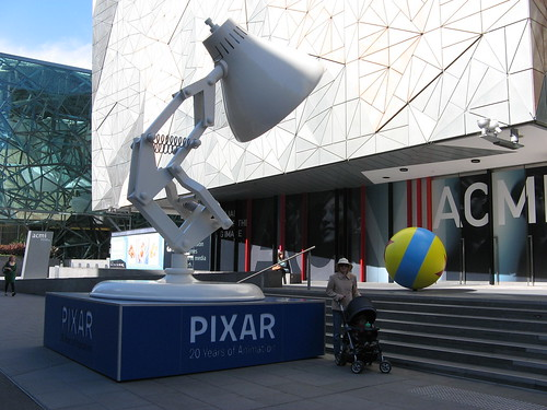 Pixar Exhibition at ACMI