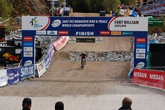 UCIFtBillDH13 (wunnspeed) Tags: scotland europe mountainbike downhill worldcup fortwilliam uci