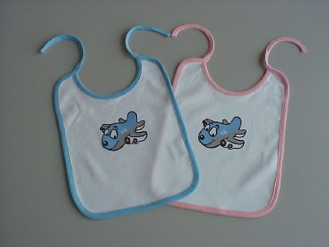 KLM - Royal Dutch Airlines Baby Gear Collection Slabbetje boy or girl