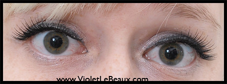 Manicare Glam Eyes Jessica Lashes Review