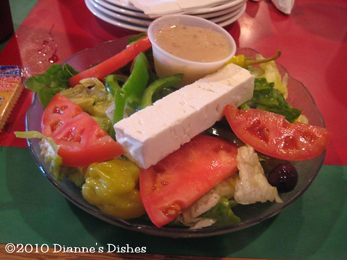 Gondolier Pizza, Athens, Tennessee: Greek Salad