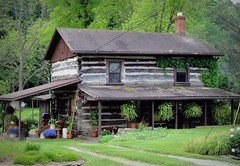West Virginia ~ Pursley (erjkprunczk) Tags: house rural log country tyler westvirginia sistersville pursley upperohiovalley erjkprunczyk wv18