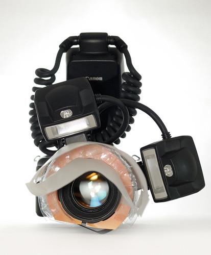 Close-ups setup - Light tent diffuser