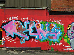 Grafitti Newcastle (harra1958) Tags: newcastle graffiti grafitti graff meds medz