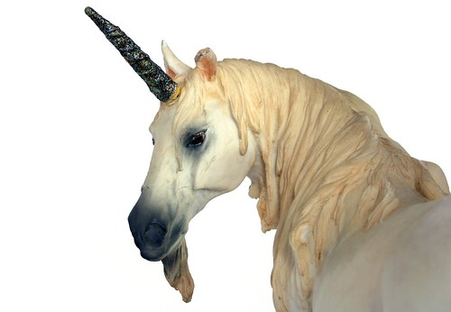 Yes, a unicorn...what DID you expect?