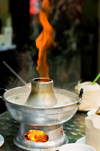 Flaming Tom Ka Gai