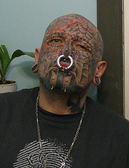 Another pic of me (Daegan Tattoos) Tags: bridge fire spider head oneofakind flames large tribal scorpion piercings stretched shavedhead bodyart gauge facial eyebrows biohazard stretchedears facialtattoos baldhead septumpiercing eyebrowpiercings 1ofakind carpenoctem facetattoos blacklighttattoo smoothhead facialpiercings shinyhead gauged nosepiercings nosepierced 00g stretchedpiercings stretchedseptum largegauge extremetattoos tribalink tattooedface spiderwebtattoo doublenostril nosetattoo scorpiontattoo headink tribalface extremetattooing faceink glowinthedarktattoo hugeseptum visibleink bigseptum razorshave biohazardtattoo stachetattoo eyebrowtattoos chinpiercings cheektattoos extremepiercings chinink chintribal tribaleyebrowtattoos inkedbrows eyelidtattoo dometat scorpionface hot6oil visiblepiercings 00gseptum visibletattoos cheektattoo tribaleyebrows dometattoo dometattoos dometattooed mugtattooed