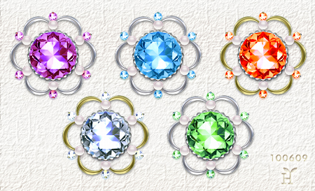 kirakira Flowers (New Icon Set)