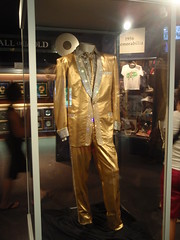 elvis' gold lame suit