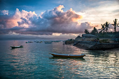 Morning in Lembongan (Fajar Nurdiansyah) Tags: travel beach landscape 1855mm nusalembongan