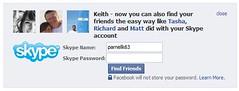 Facebook & Skype