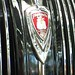 1938 Plymouth P6 Deluxe sedan grille badge