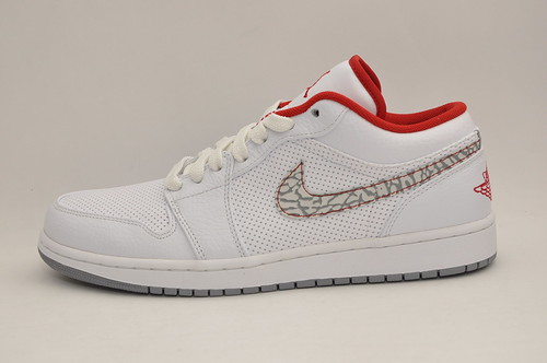 Jordan 1 Phat Low White