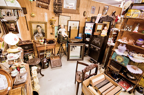 Inside the Antique Mall