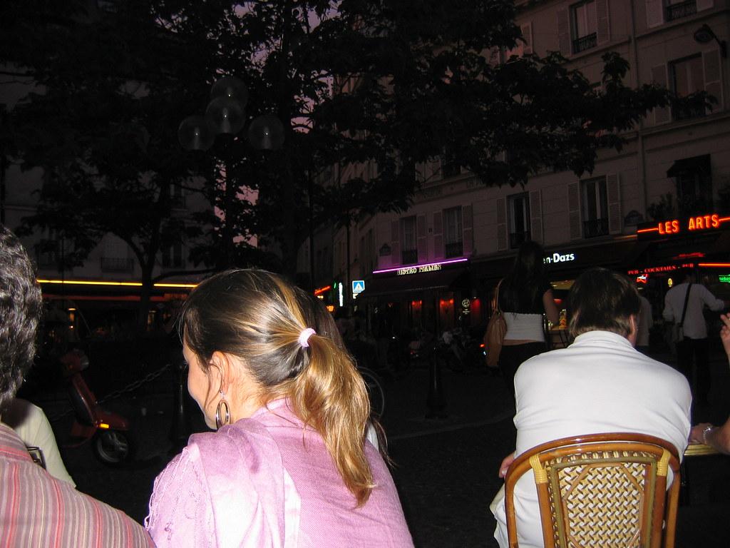 Paris: Café de la Contrescarpe