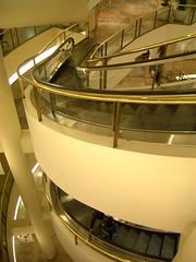 Curved Escalator!