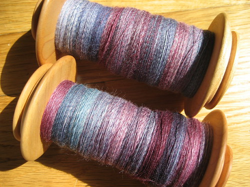 Spunky Eclectic merino/silk in Thunderstorm
