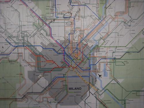 (Tagged) Map of Milan