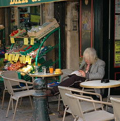 Coffee and a Cigarette (CordsImages) Tags: france coffee cigarette aixenprovence provence latte aix