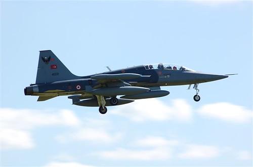 Fighter airplane picture - Turkish Airforce Northrop F-5 Freedom Fighter