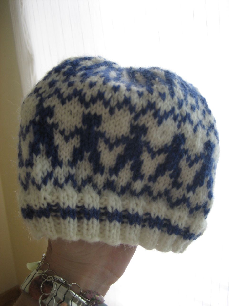 Jan's hat: my first color project