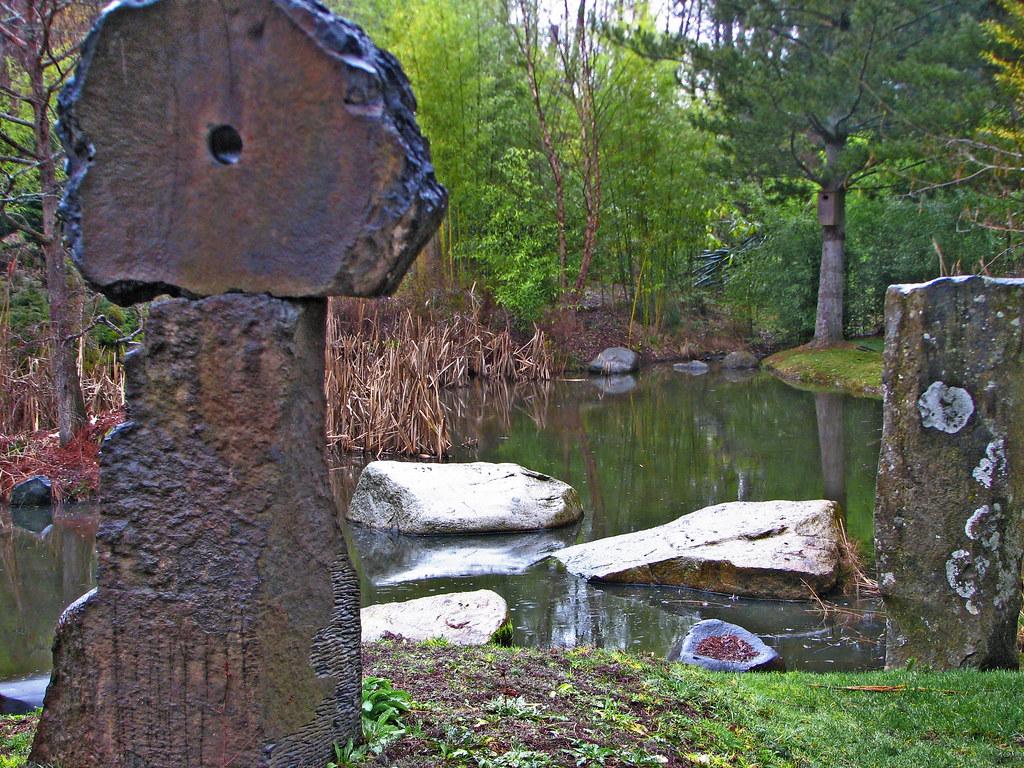 Stone Garden Pond