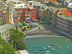 in basso (leuntje) Tags: italy italia cinqueterre vernazza mywinners holidaysvacanzeurlaub