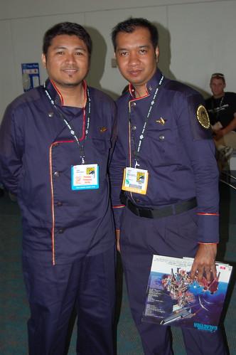 Comic Con 2007: BSG Officers