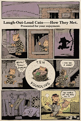 Laugh-Out-Loud Cats Sunday Strip #1 - by Ape Lad