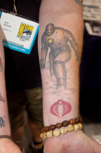Comic Con 2007: Iron Man Tattoo
