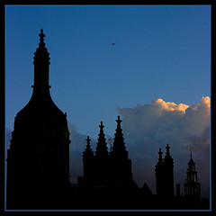 Cambridge silhouettes: King's College (Sir Cam) Tags: cambridge england silhouette university kingscollege soe mywinners diamondclassphotographer