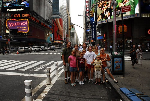 Crazy Finns Take Times Square