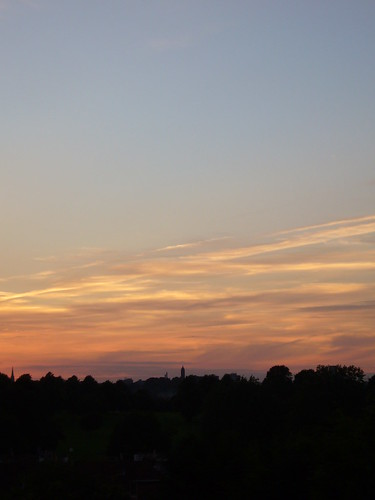 Sunset over Cabot Tower (1)