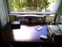 Desk at the Chelsea