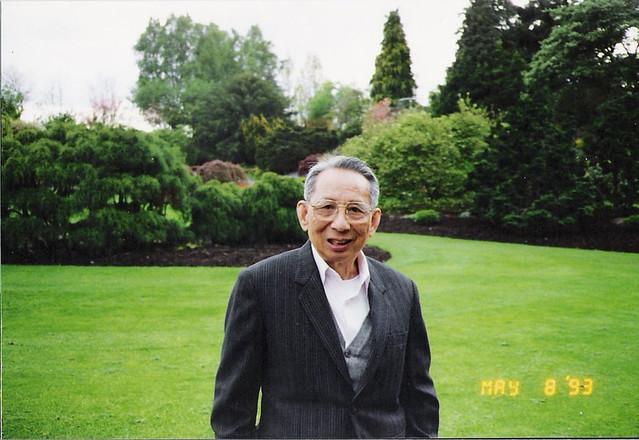 Saying Goodbye - Grandfather