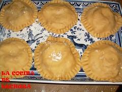 Empanadillas redondas crudas