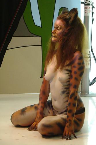 Bodypaint Lynx