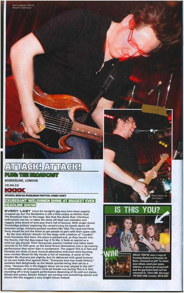 AttackAttackKerrang