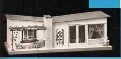 """1961 Moritz Gottschalk Bungalow (diepuppenstubensammlerin) Tags: old public vintage ads children toy toys pub 60s doll dolls fifties child alt ad retro advertisement 50s werbung spielzeug sixties reklame spiel publication puppe puppen jahre antik dollshouse altes 60er 50er fünfziger anzeigen puppenhaus puppenstube antikes sechziger """"doll puppenstuben house"""" poupes puppenhäuser """"doll's"""