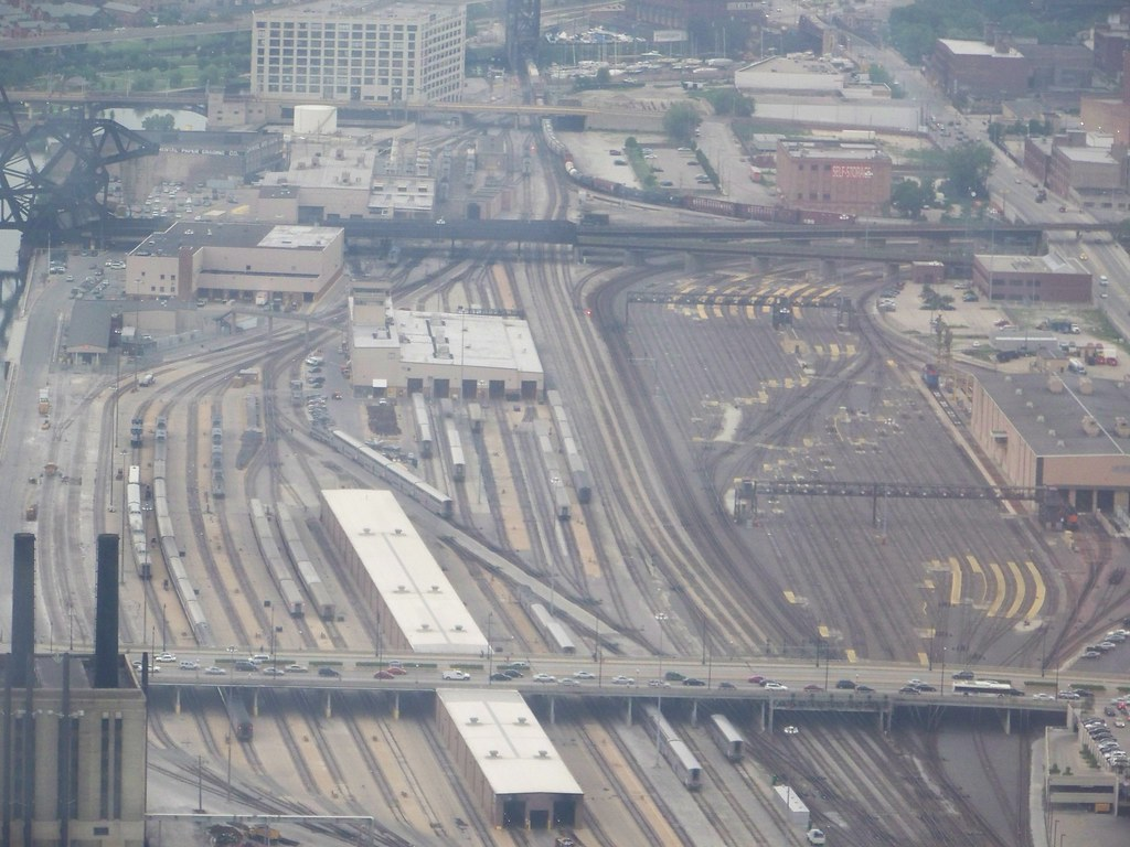 Chicago Train yard.