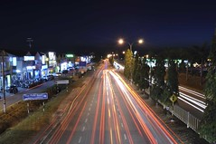 (Mohd Taufik II) Tags: light nightpicture lighttraile nightart lightpanting creativepotraite