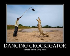DANCING CROCKIGATOR (Pizmit) Tags: cute strange weird amazing hilarious cool fantastic funny lol unique awesome 420 noway odd collections insanity wtf trippy seriously clever frightening crazyshit bitchin bestpic motivationalposter funnypic funnyshit photocollection myspacepic laughoutloud demotivationalposter rarephoto facebookpic motivationals demotivationals rarepicture motivationalpicture bestposter freepicturecollections categorizedpictures websbestpic anotherpizmitoriginal pictureoffunnyshit pizmit wwwpizmitcom