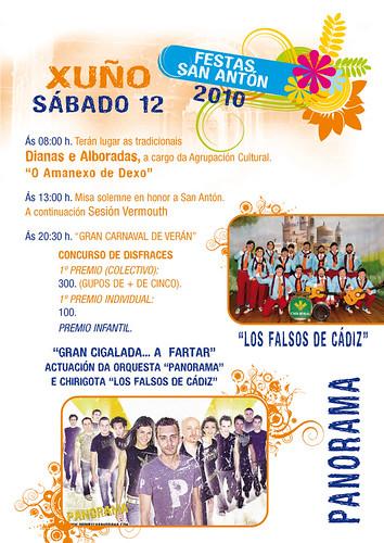 Oleiros - Dexo 2010 - programa sábado