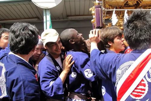 Ushioda Jinja Matsuri