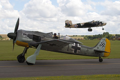 F-AZZJ - 990013 - Private - Flugwerk FW 190 A8 N - 090712 - Flying Legends 2009 Duxford - Steven Gray - IMG_1530