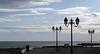 Straßenlampen in Saintes Maries de la Mer (mikiitaly) Tags: frankreich meer wolken casio provence camargue laternen saintesmariesdelamer strasenlampen exfh20
