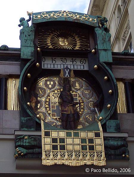 Reloj Anker. © Paco Bellido, 2006
